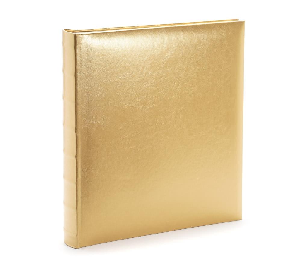 Фотоальбом Fotografia магнитный, Классика, 30 листов, 29х32 см, золото, FA-EBBSA30 - 828