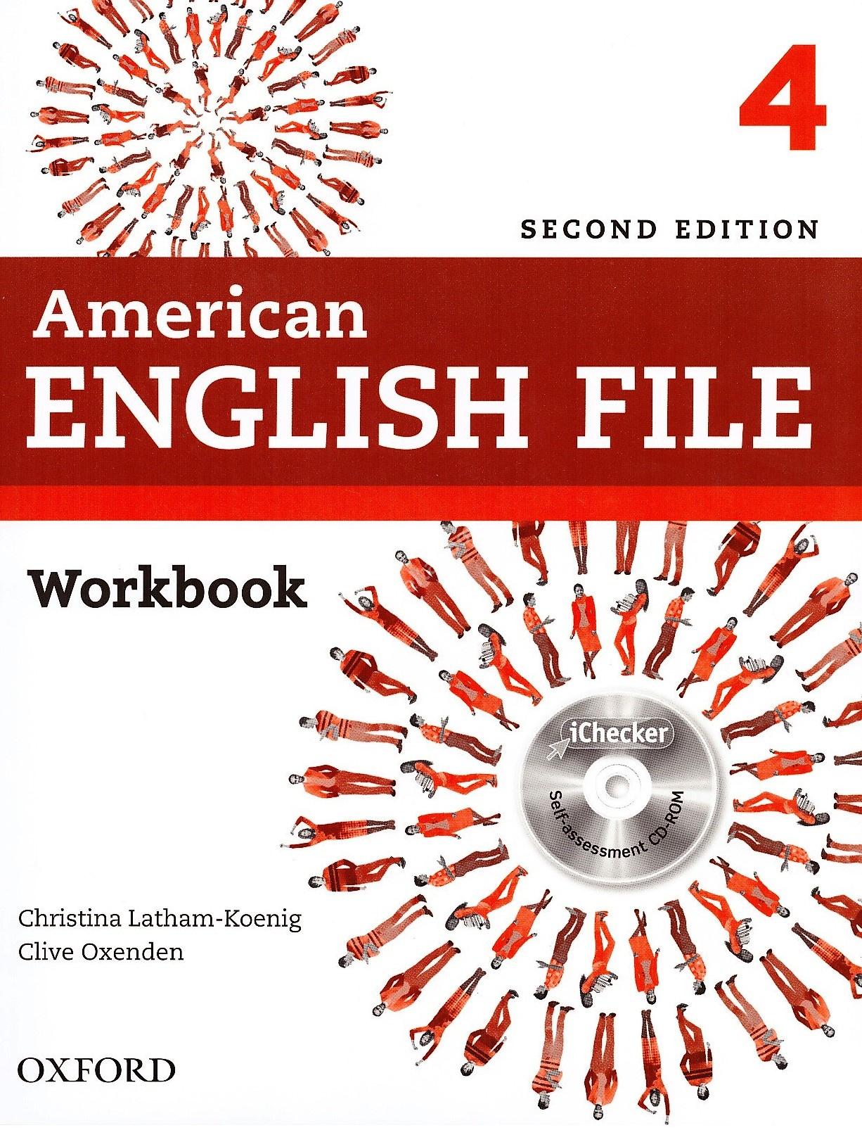 American English File 4 Workbook: with iChecker