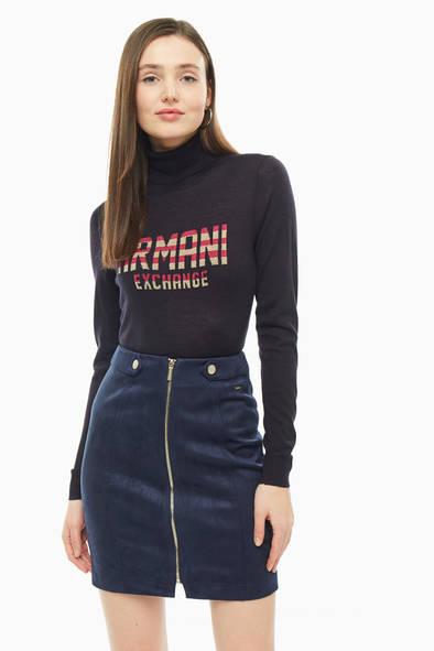 Водолазка женская Armani Exchange 6GYM1C YMA3Z 1593 черная S фото