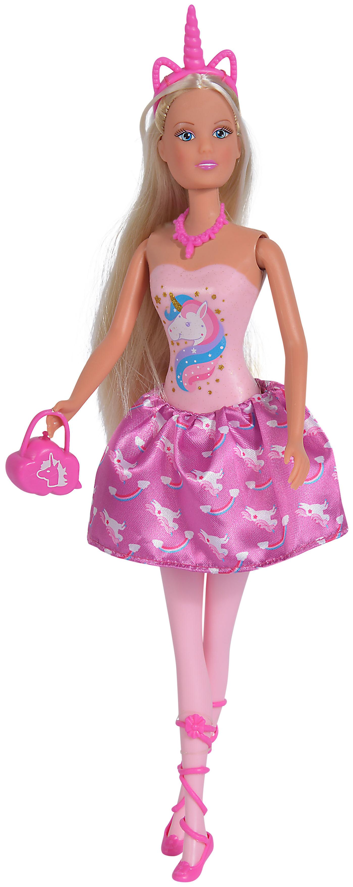 Кукла Simba Штеффи в розовом платье