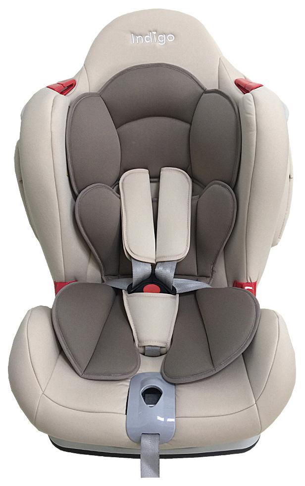 Купить Автокресло Indigo Main Road JM03 коричневый, бежевый, Детские автокресла