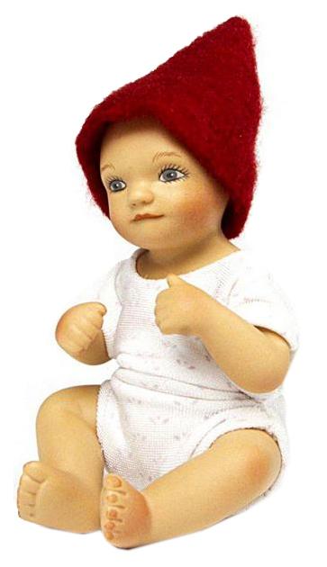 Кукла Birgitte Frigast Baby Henrik 10см