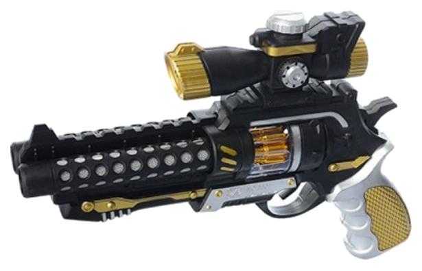 Купить Пистолет со световыми и звуковыми эффектами, Shenzhen Jingyitian Trade, Игрушечные пистолеты