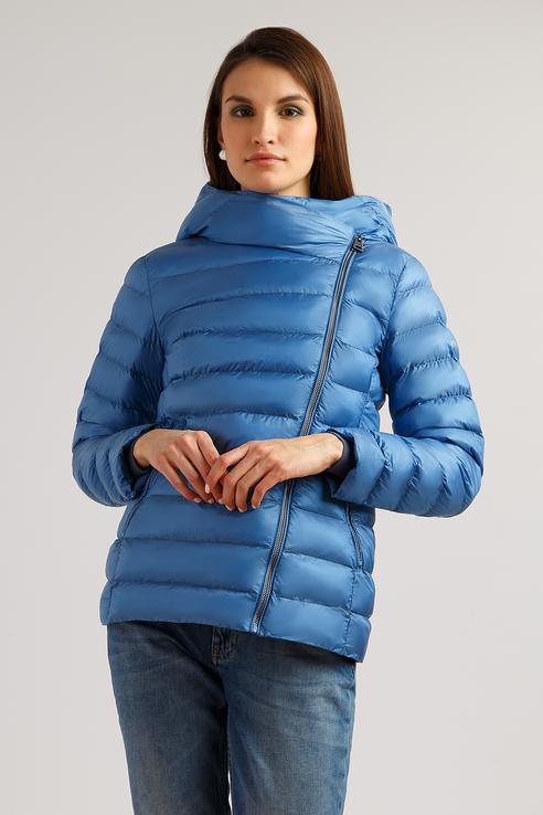 Куртка женская Finn Flare B19-11008 синий XL фото