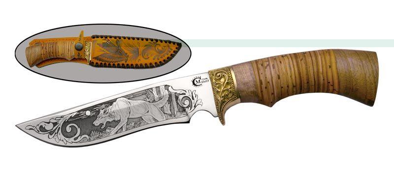 Туристический нож СН 02 от Ворсма