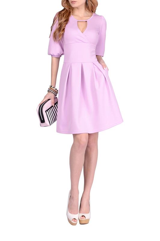 Платье женское FRANCESCA LUCINI F0990 фиолетовое 42 RU