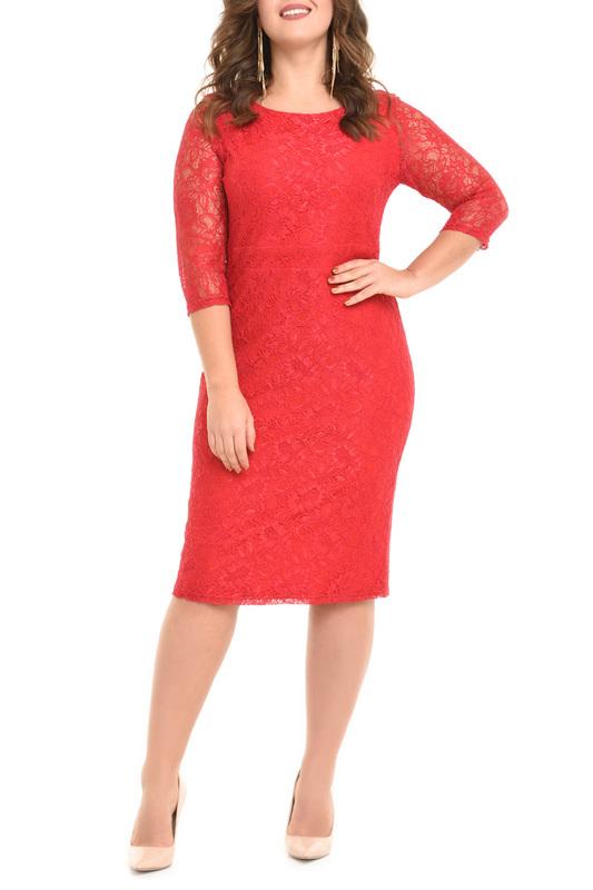 Платье женское SVESTA R608ROU красное 60 RU фото