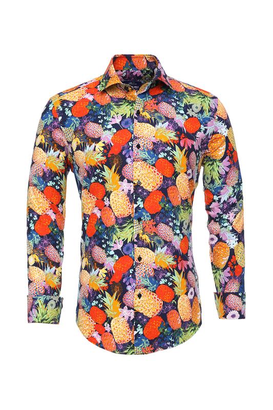 Рубашка мужская BAWER RZ2412070-02 красная S