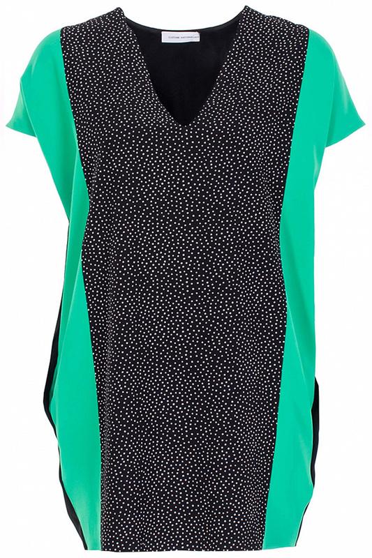 Туника женская Costume National 66164 черная 38 IT