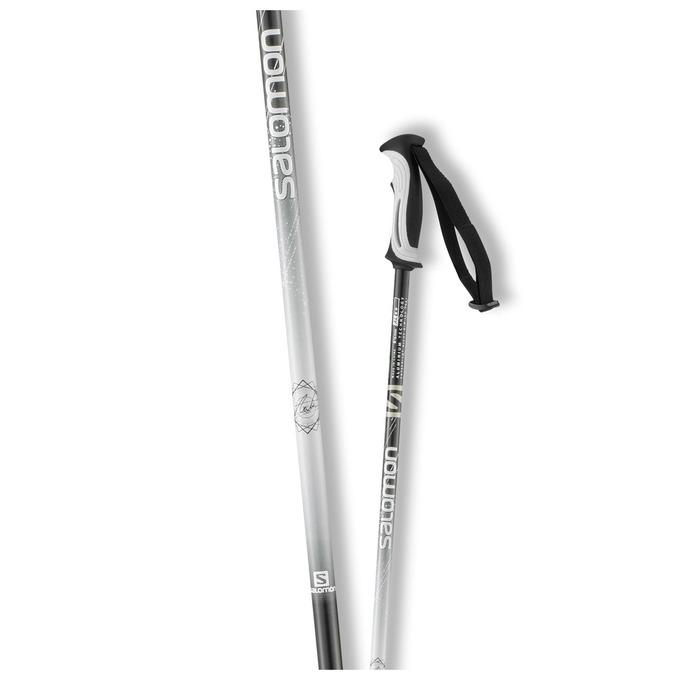 Горнолыжные палки Salomon Arctic Lady 2019 женские белые/черные, 110 см