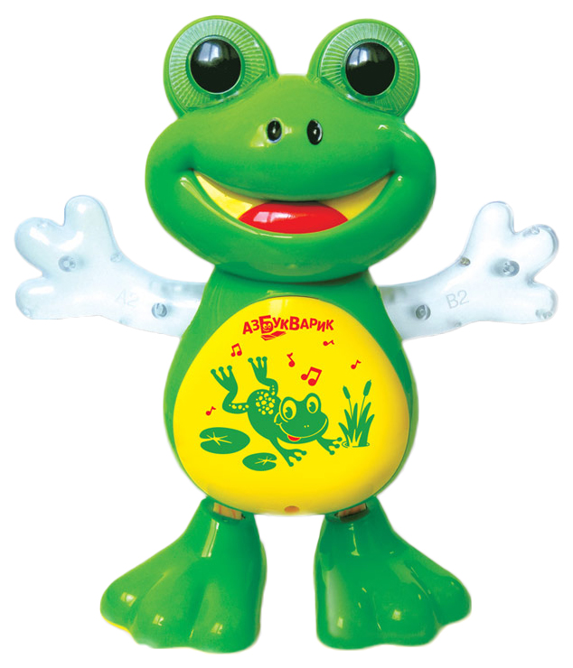 Купить Игрушка Азбукварик Танцующая лягушка 28179-7,