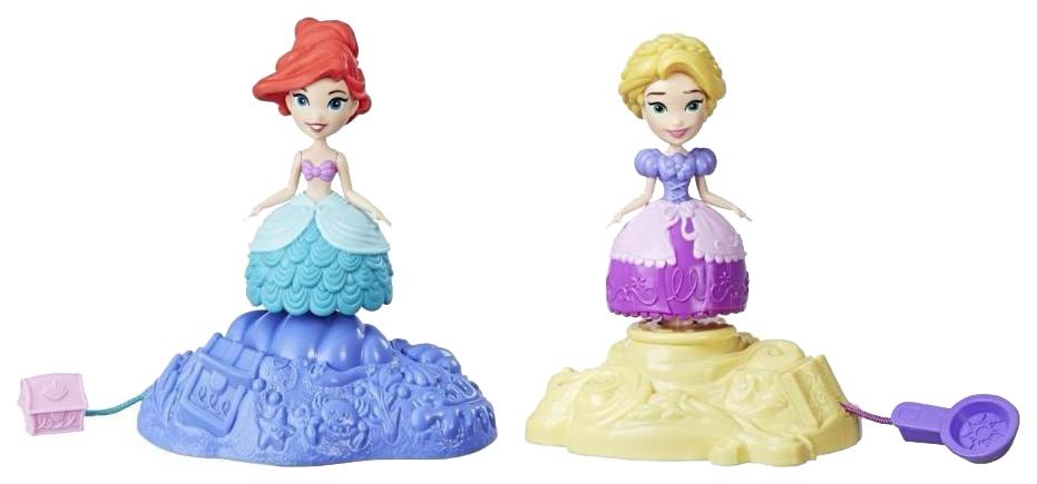 Фигурки персонажей Hasbro Disney Princess Magical Movers Ариєль Рапунцель E0067EU4