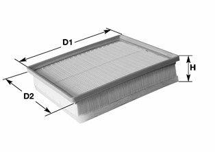 Фильтр воздушный двигателя Clean filters MA3168