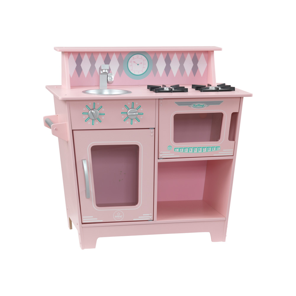 Игрушечная кухня Классик цв. розовый KidKraft 53383_KE