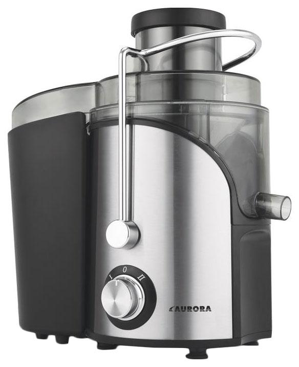 Соковыжималка центробежная Aurora AU 3342 silver/black