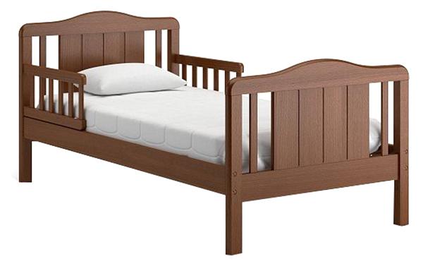 Купить Подростковая кровать Nuovita Volo Темный орех, Детские кровати