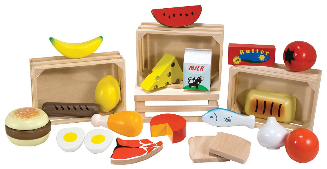 Купить Melissa & Doug Готовь и играй Набор продуктов, арт. 271, Игрушечные продукты