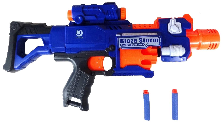 Купить Огнестрельное игрушечное оружие Wineya Пистолет с мягкими пулями Blaze Storm, Shantou Gepai, Стрелковое игрушечное оружие