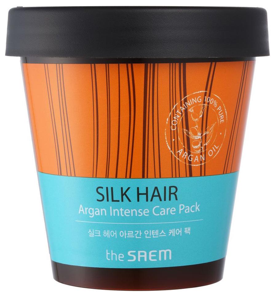 Маска для волос The Saem Silk Hair Argan Intense Care Pack 200 мл