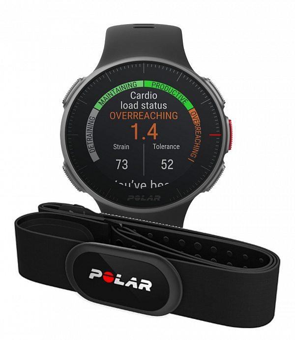 Смарт-часы Polar Vantage V HR + H10 черные фото