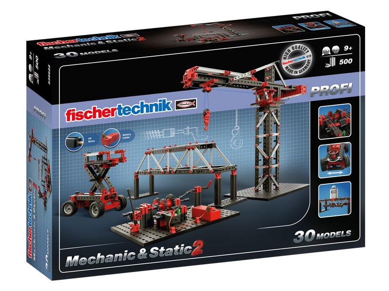 Купить Конструктор пластиковый Fischertechnik Mechanic & Static 2 / Механика и статика 2,
