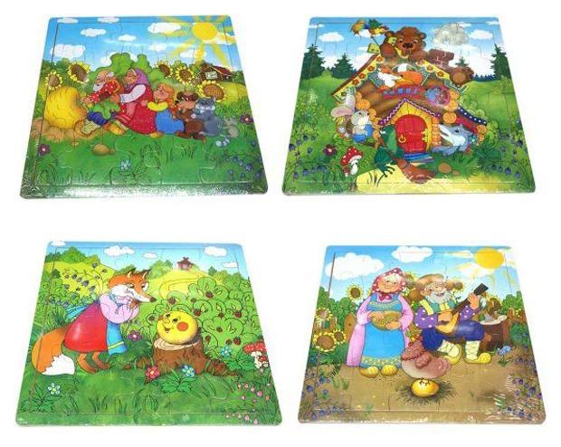 Пазл Shantou Gepai Русские сказки