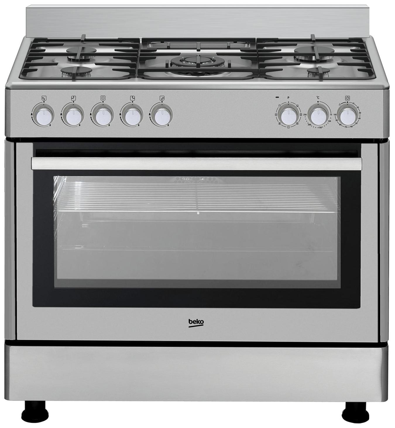 Комбинированная плита Beko GM 15121 DX Silver