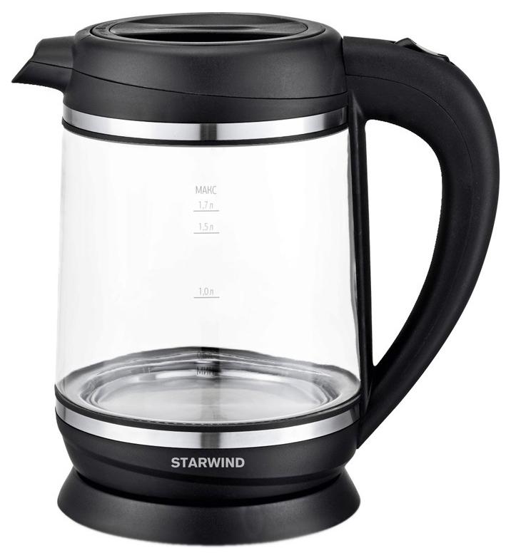 Чайник электрический Starwind SKG6760 Black
