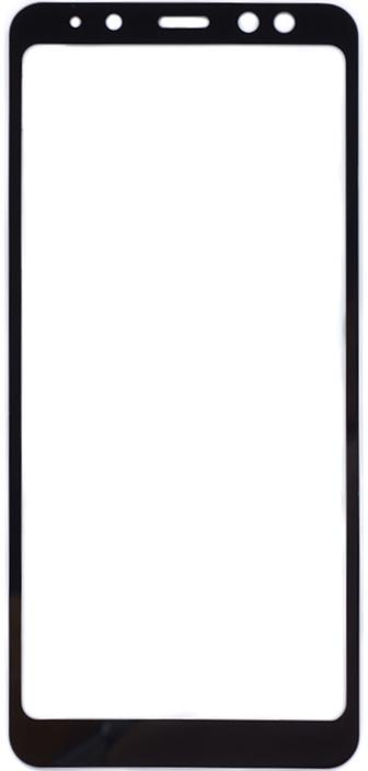 Защитное стекло GOSSO CASES для Samsung Galaxy A8 (2018) Black