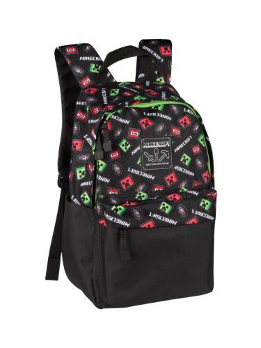 Купить Рюкзак детский Upixel пиксельный Minecraft Creeper Scatter, Школьные рюкзаки и ранцы
