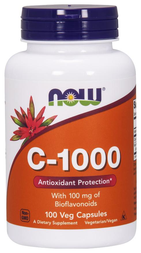 Купить Витамин C NOW C-1000 100 капс.