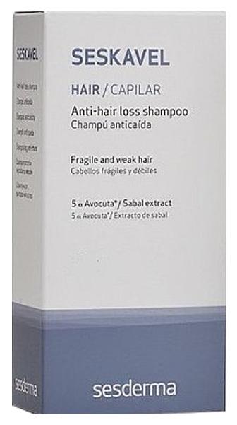 Шампунь против выпадения волос SesDerma Seskavel Anti-Hair Loss Shampoo 200 мл