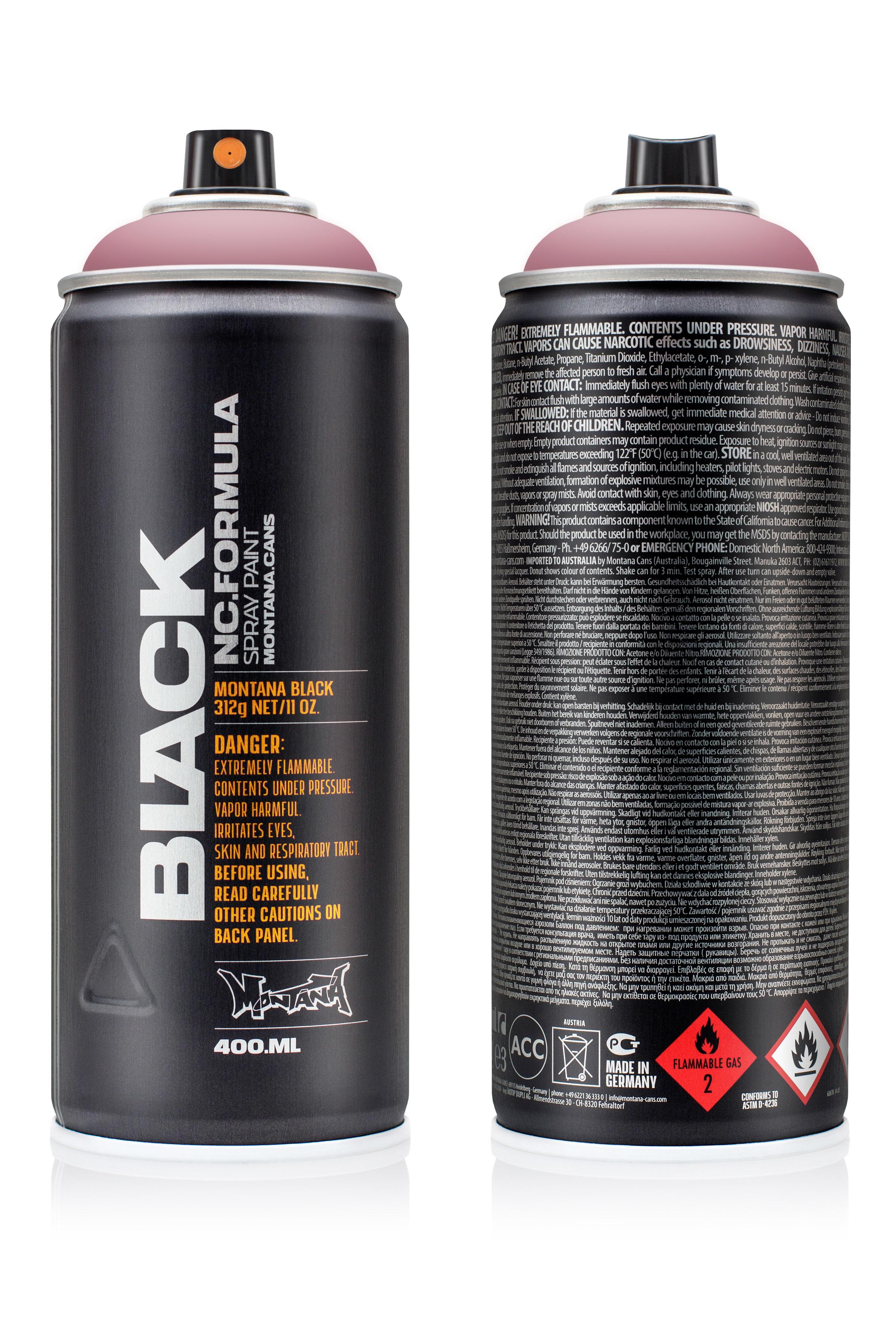 Аэрозольная краска Montana Black Plum 400 мл