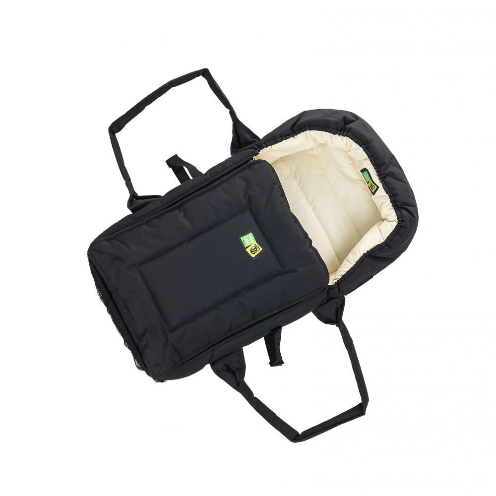 Люлька-переноска Valco baby soft bassinet / black