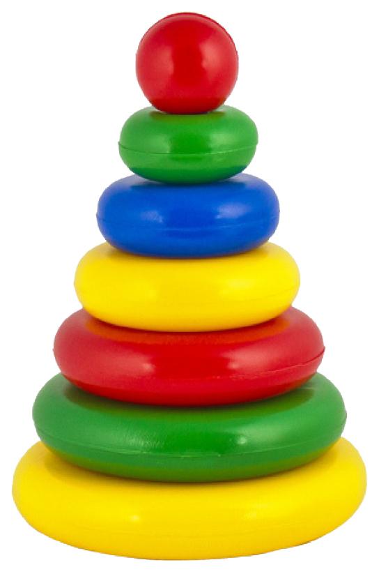 Купить Развивающая игрушка Десятое королевство Пирамидка Малышок 01601ДК, Десятое Королевство, Пирамидки для детей