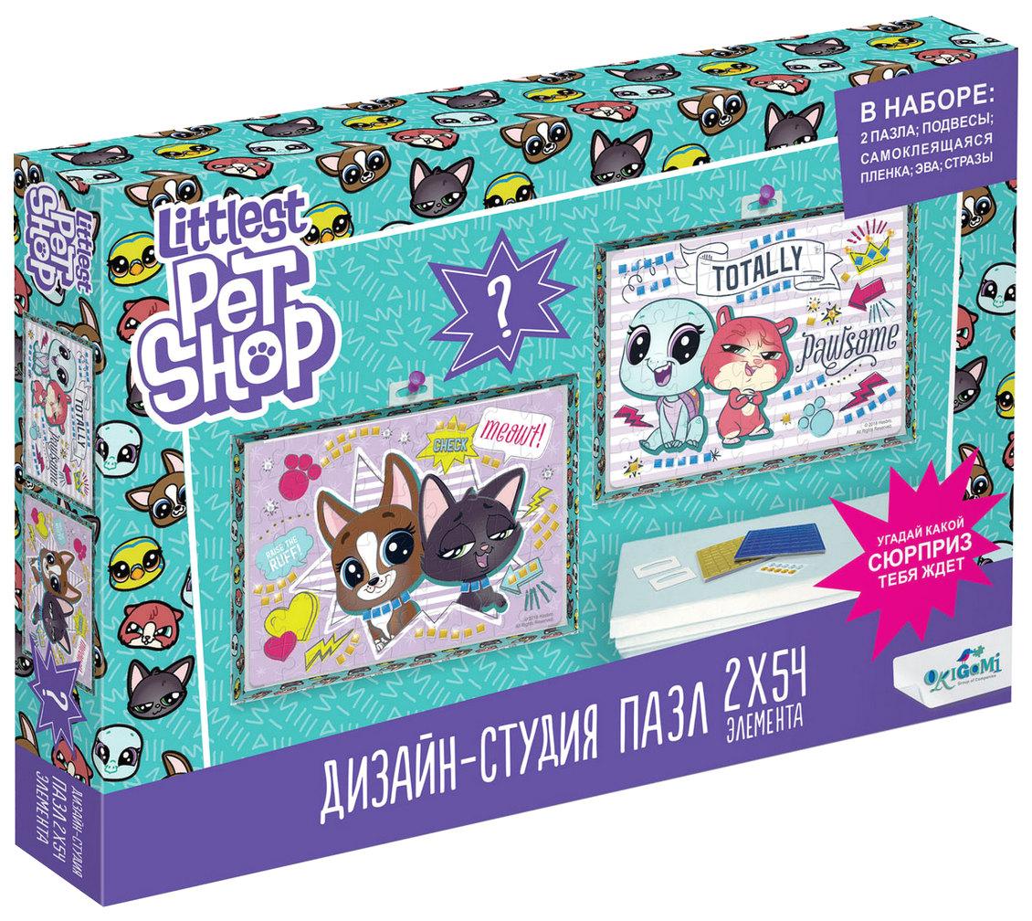 Пазлы Origami Диптих Littlest Pet Shop Лучшие друзья 4419