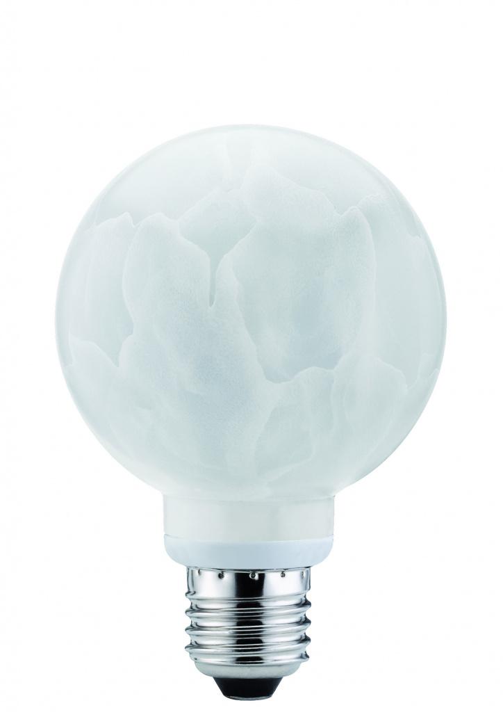 ESL Globe 80 10W E27 Alabaster Warmweiß