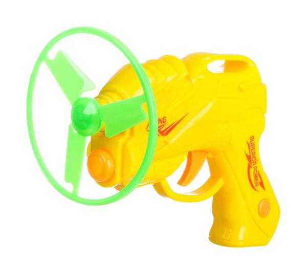 Купить Огнестрельное игрушечное оружие Грат-Вест Пистолет с 3 пропеллерами 601 в ассортименте, Gratwest,