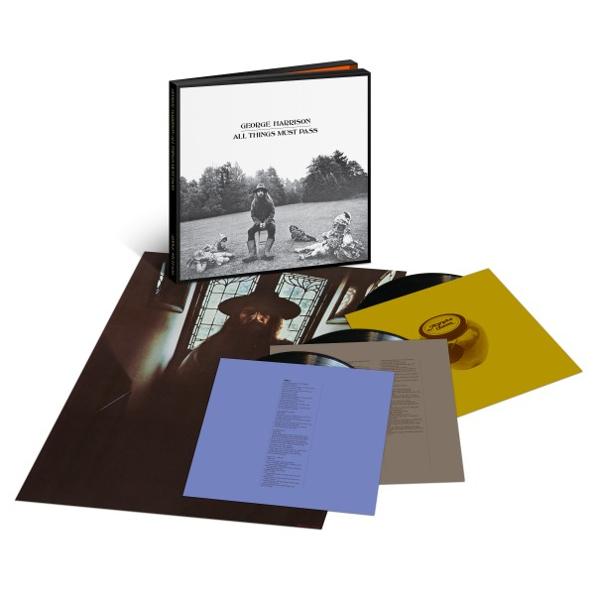 Виниловая пластинка George Harrison  All Things Must Pass (3LP), Медиа  - купить со скидкой