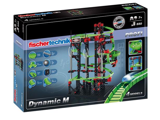 Купить Конструктор Fischertechnik PROFI Dynamic M/Динамика M (шариковая дорожка), Конструкторы пластмассовые