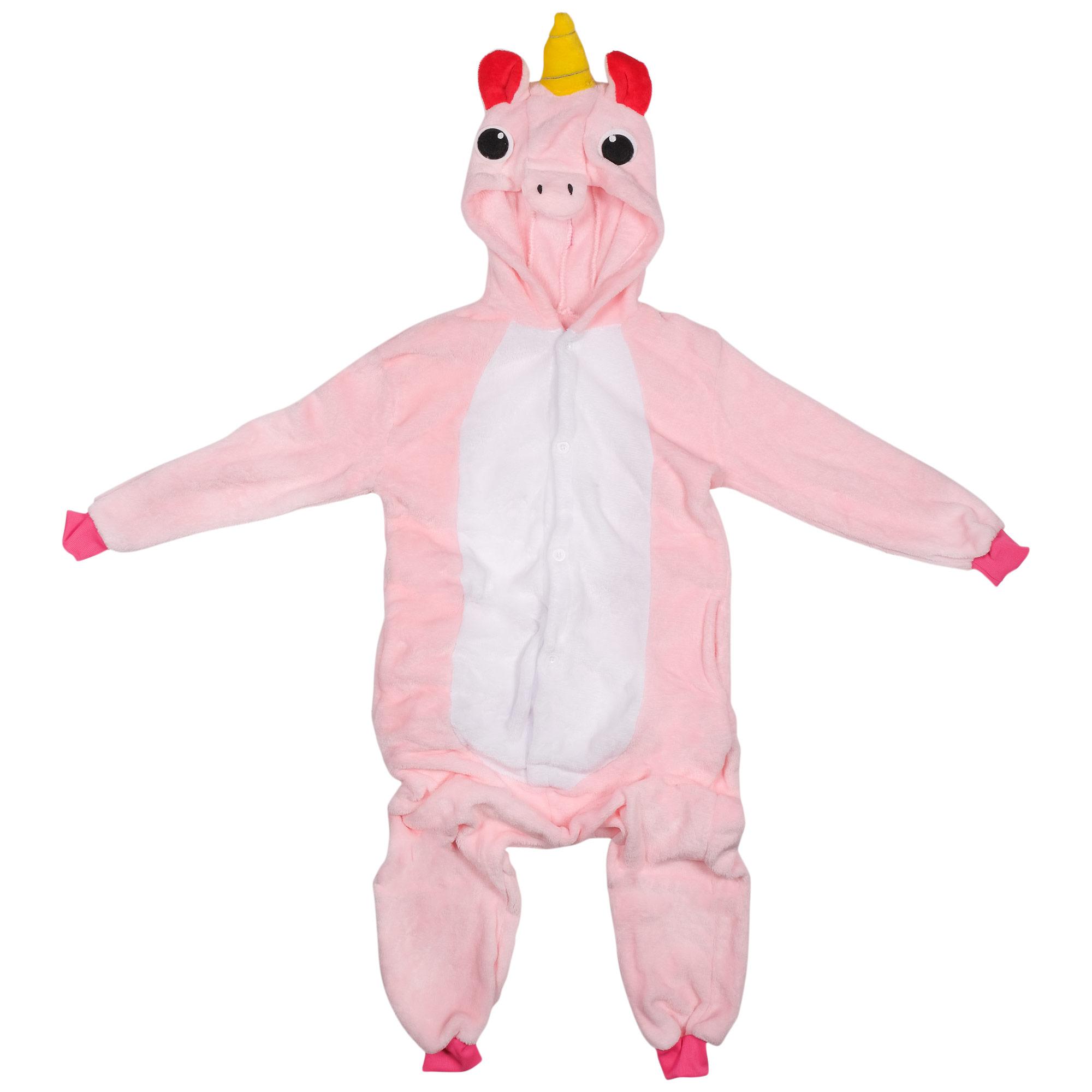 Купить Радужный Розовый Единорог, Кигуруми Lilkrok, цв. розовый р.152,