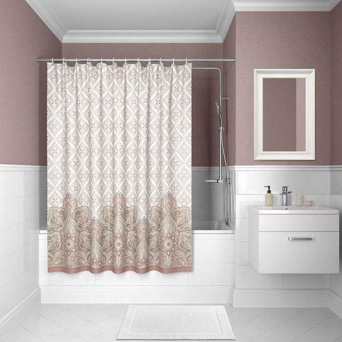 Штора для ванной комнаты IDDIS Décor D08P218i11