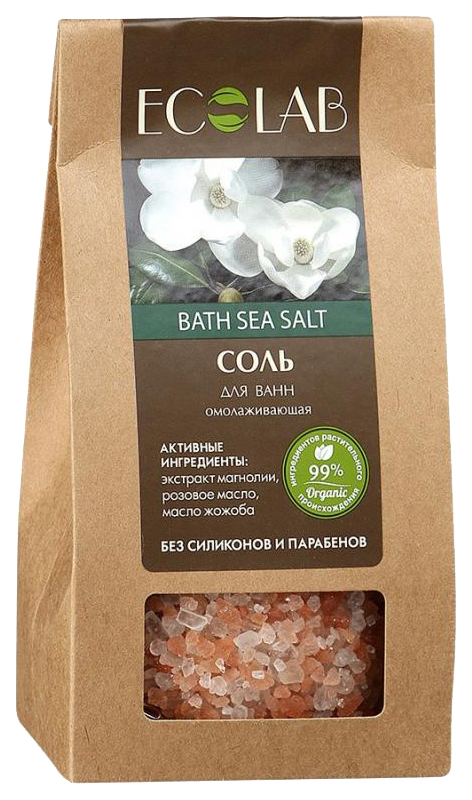 Соль для ванн Ecolab Омолаживающая