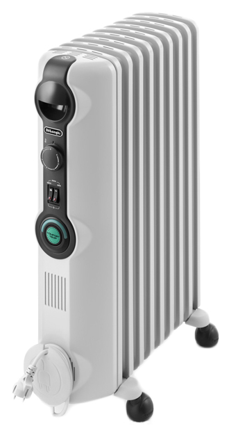 Масляный радиатор DeLonghi Radia S TRRS0920C белый