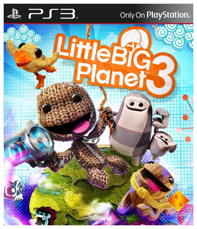 Игра LittleBigPlanet 3 для PlayStation 3 Sony