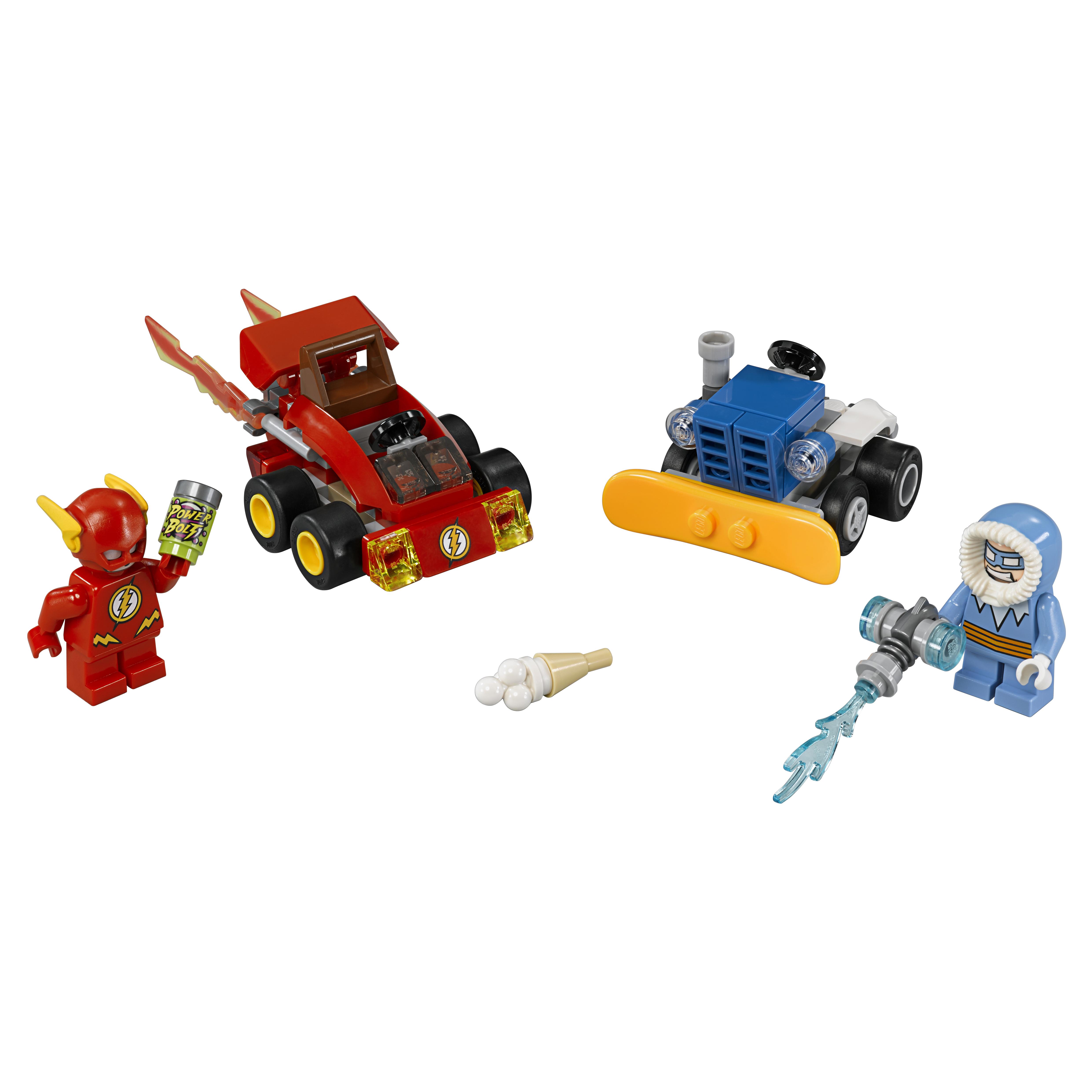 Конструктор LEGO Super Heroes Флэш против Капитана Холода (76063)