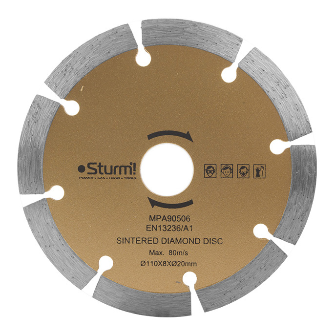 Диск алмазный отрезной универсальный Sturm! TC9811-990 фото