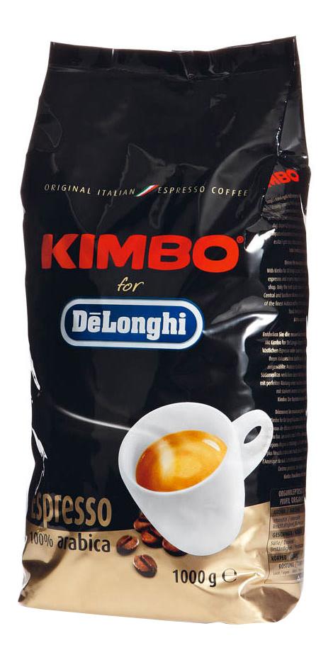 Кофе в зернах Delonghi kimbo arabica 1000 г