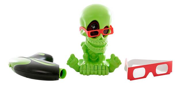 Купить Проекционный тир Johnny the Skull 3D с 1 бластером, Игровые наборы