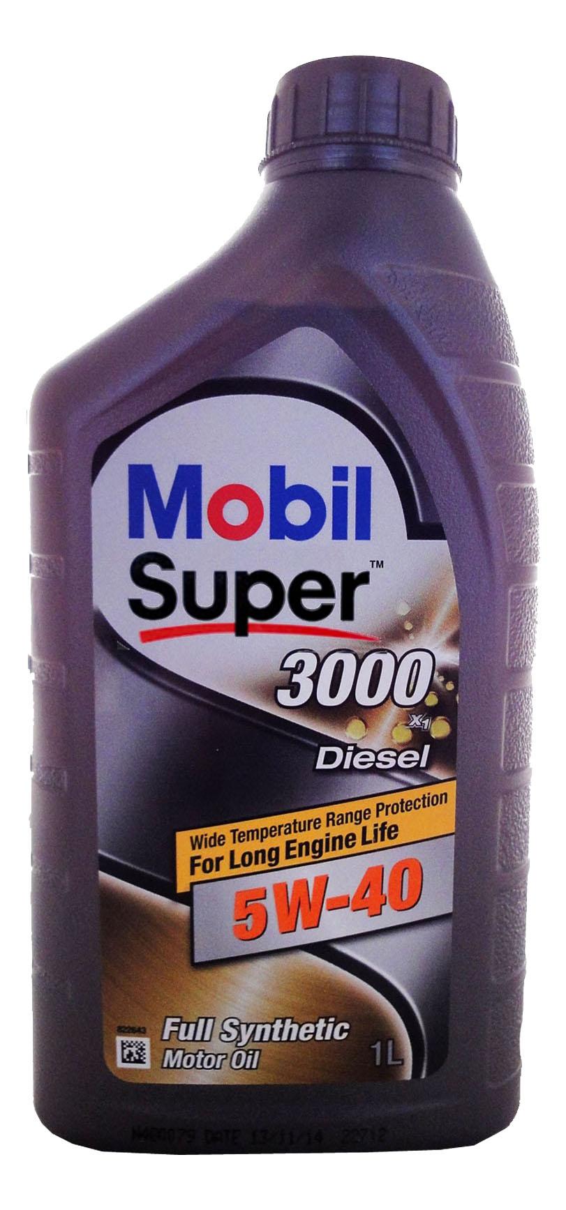 MOBIL SUPER 3000 X1 DIESEL